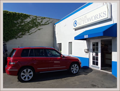 Mercedes benz service center contact collie autoworks for Mercedes benz of marin service